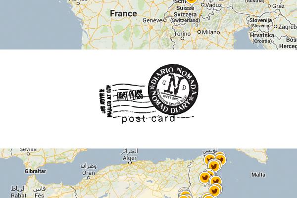 Mapa Diario Nomada